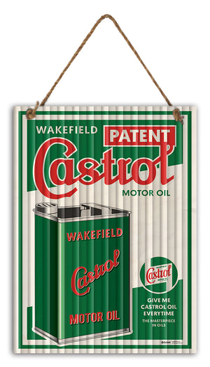 Garage Signs – Sign Wakefield Castrol 30cm x 40cm