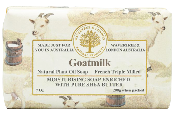 WAVERTREE & LONDON - GOATSMILK SOAP BAR 200G - Hansel and Gretel Coffee House