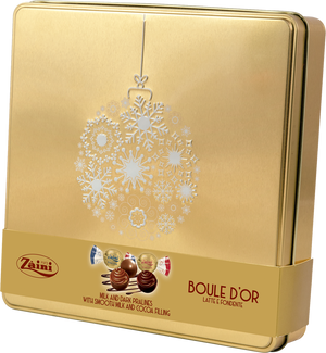Zaini - Milk & Dark Pralines with smooth milk and cocoa filling