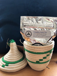 Peace Basket with Organic Green Tea