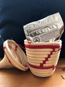 Peace Basket with Organically-Grown White Tea