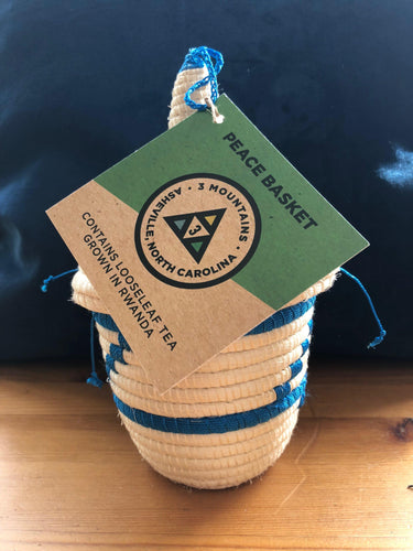 Peace Basket with Organically-Grown Silver Needle Tea