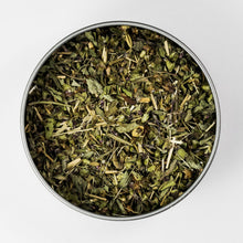 Load image into Gallery viewer, Organically-Grown Direct Trade Tulsi Lemongrass Tea in Tin