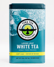Load image into Gallery viewer, Organically-Grown Fair Trade White Tea in Tin