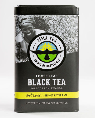 Organic Fair Trade Black Orange Pekoe Tea in Tin