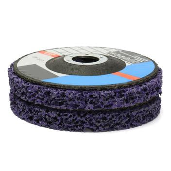 125Mm Poly Strip Disc Abrasive Wheel Paint Rust Removal Clean Mayitr For Angle Grinder
