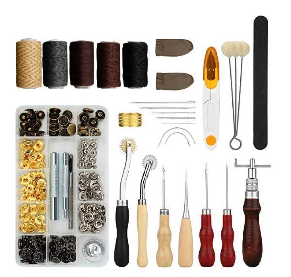 Free Delivery - Leather Working Tools Kit