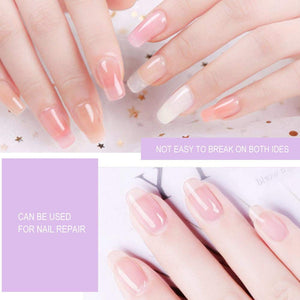 Nail Extension Fiberglass - 10 PCS