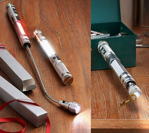 Telescopic 3 LED Torch Flashlight Magnetic Pick Up Tool