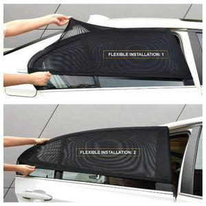 BUY 1 & GET 1 FREE TODAY-- Universal Car Window Sun Shade Curtain【Fits all Cars!】