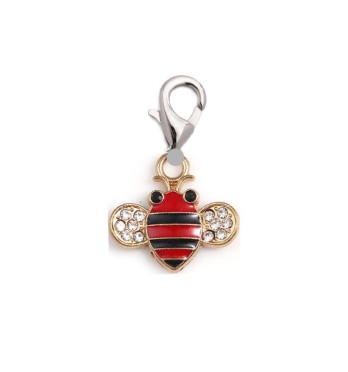 Bee Charm with Clip for a Charm Bracelet
