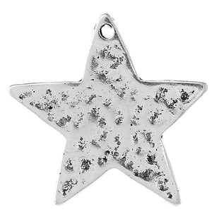 Star Charm, Hammered