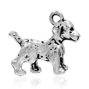 Dog Charm in 3D