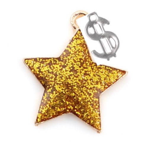 Star with $ Dangle (FEBRUARY)