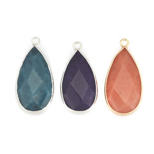 Gemstone/Natural Stone Turquoise Drop