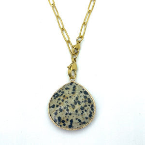 Khaki & Black Speckled Natural Stone Set, Queen of Sharing