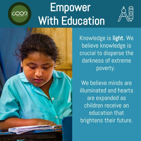 Empower with Education Good Always Value