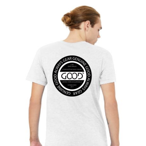 Good Always™ Seal (Grey Shirt) [Front and Back]