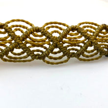 Load image into Gallery viewer, Love Good Always Coconut Shell Bracelet Mayan Lace Taupe Band