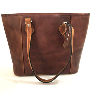 Genuine Full Grain Leather Handbag No. 31
