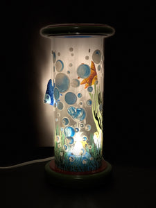 Parade Submarino Hand-Painted Mayan 360 Lantern