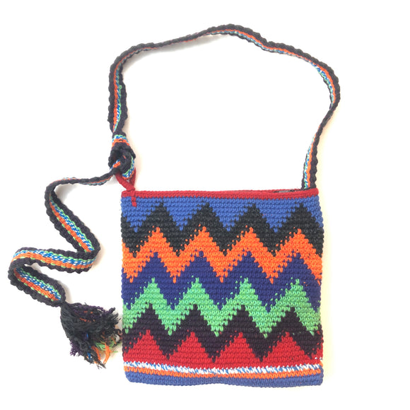 Hand Woven Artisan Bag-Small Square