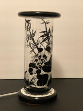 Load image into Gallery viewer, Pandas En Reposo Hand-Painted Mayan 360 Lantern