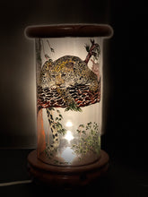 Load image into Gallery viewer, Relojes De Jaguar Hand-Painted Mayan 360 Lantern