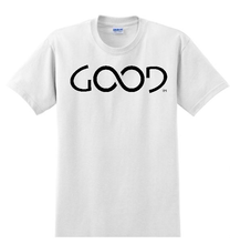 Load image into Gallery viewer, Good Always Black Logo (White Shirt)