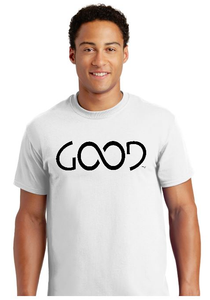 Good Always Black Logo (White Shirt)