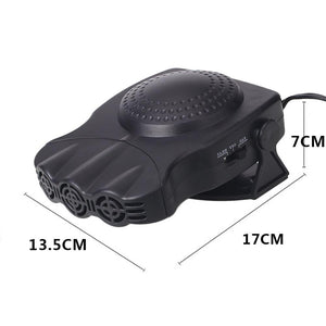 2 in 1 Portable Car Heater Fan
