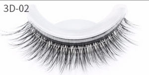 Reusable Self-Adhesive Natural Curly 3D Eyelashes