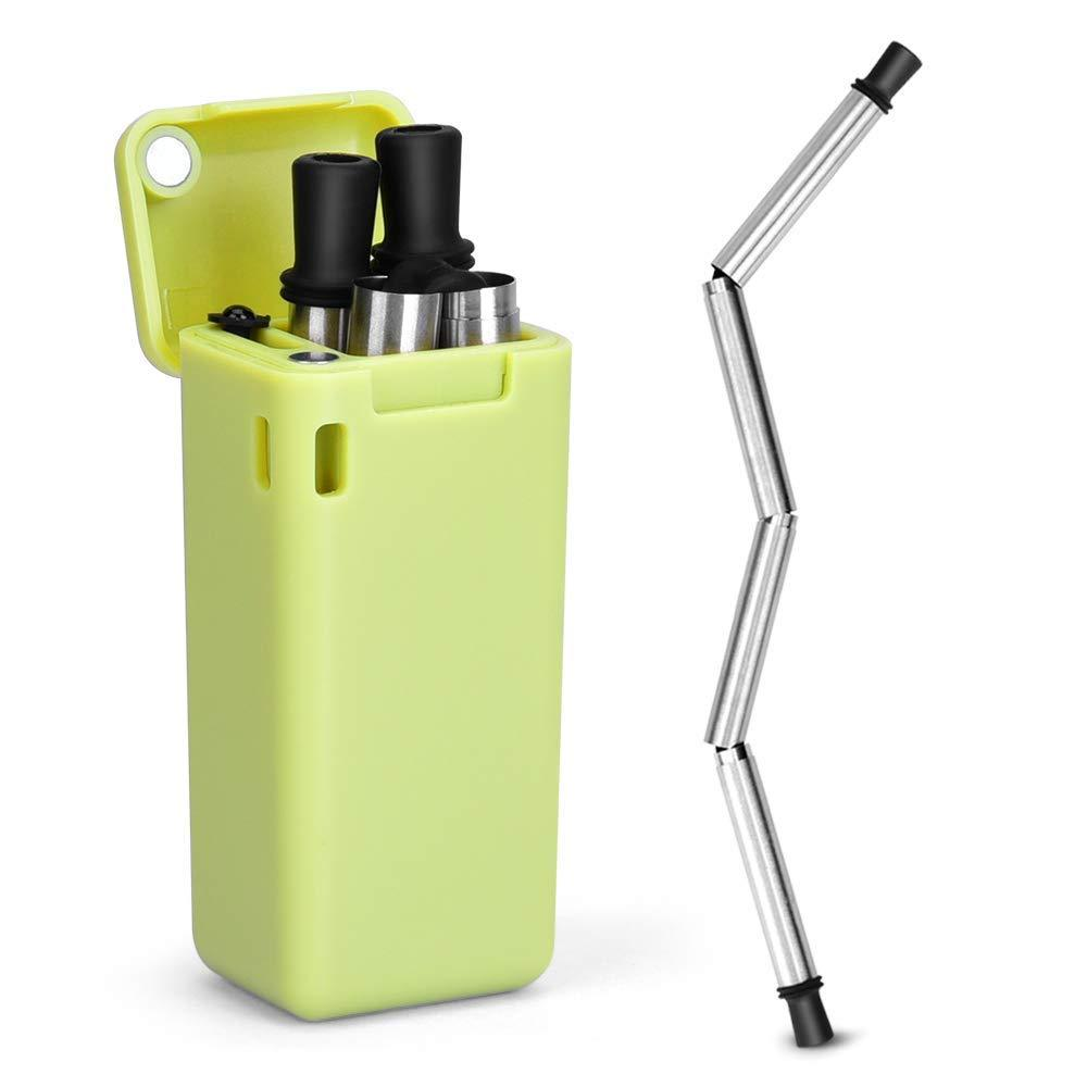 (50% OFF)Reusable Foldable Straw