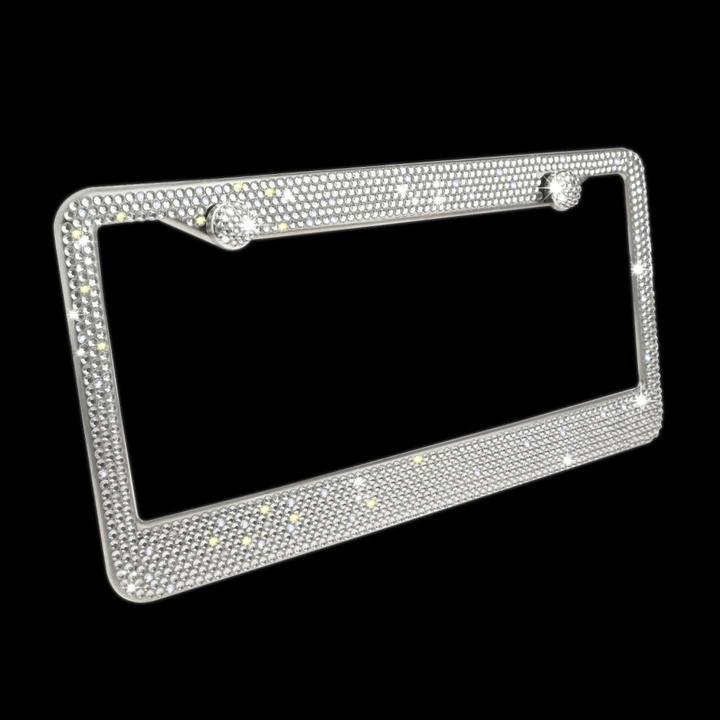 ⚡ 60% off Crystal Bling License Plate Frames ⚡