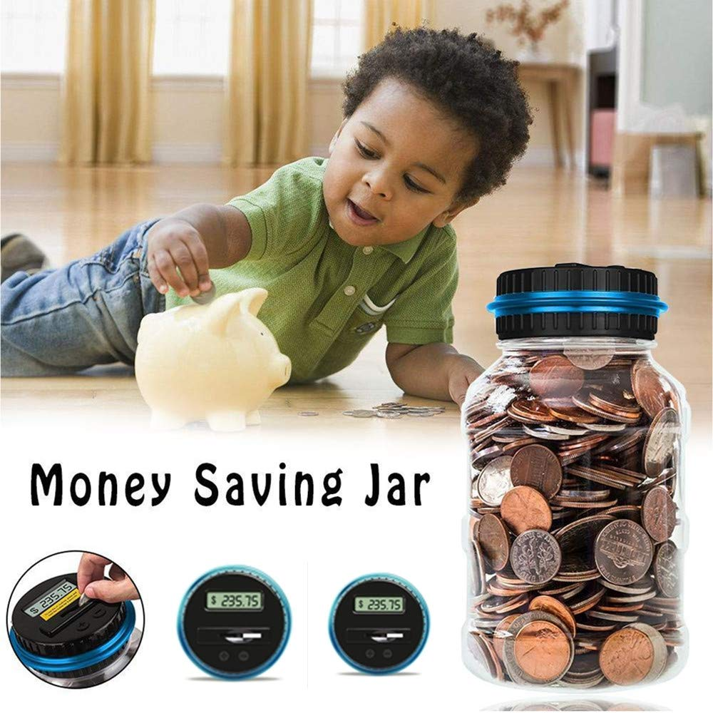 Automatic Coin Counte Savings Jar