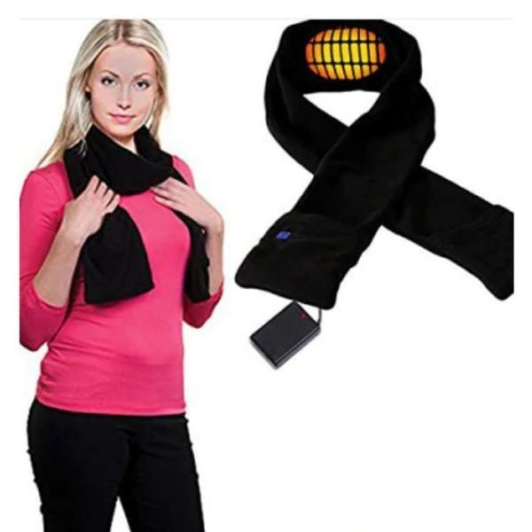 Adjustable Temperature Rechargeable Electric Heating Warm Scarf