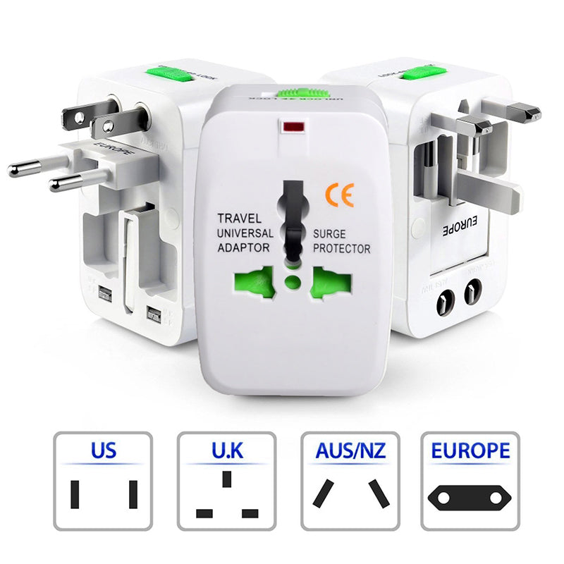 Global Multi-Function Conversion Plug Travel Power Adapter