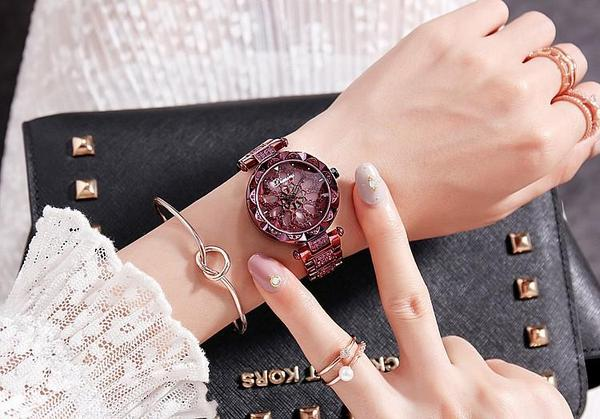 🔥Star-studded magnetic ladies watch
