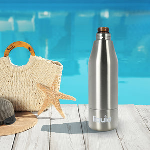 Liquid Fusion Icy Bev Kooler Stainless Steel Bottle Insulator, From Grand Fusion
