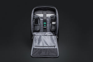 Travel Fusion Anti-theft Laptop Backpack with USB Charging Port, Security Cable, and Combination Lock