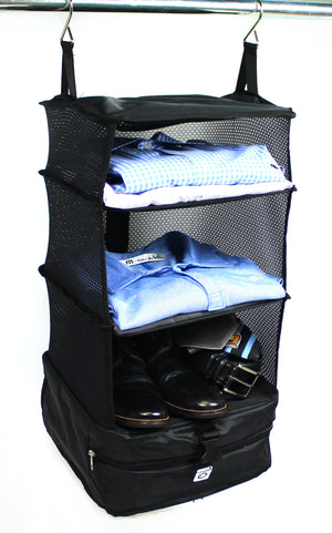 STOW N GO HANGING TRAVEL SHELVES - SMALL, from Grand Fusion
