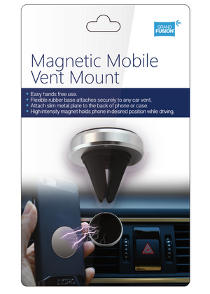 Magnetic Phone Vent Mount 2 Pack