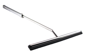 Stainless Steel Shower Squeegee with Telescoping Handle Extends to 23 Inches