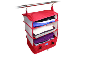 STOW N GO HANGING TRAVEL SHELVES - LARGE