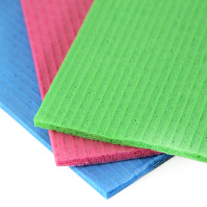 Sponge Cloths to Clean Kitchens, Bathrooms, Counter Tops and More. Eco Friendly Washable Reusable1 Cloth Replaces 15 Paper Towel Rolls and Can Be Washed 300 Times in the Washing Machine, From Grand Fusion