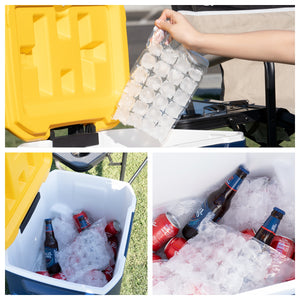 Instant Ice Bags 10 pk, Make your own ice. From Grand Fusion
