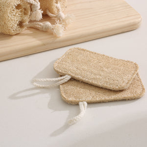 Biodegradable Heavy Duty Non Scratch Dish Scrubber Pads To Get Dishes Cleaner. Eco Friendly 100% Natural, Odor Free Plant Fiber Loofahs Expand and Soften When Wet To Clean Tough Baked On Food, From Grand Fusion
