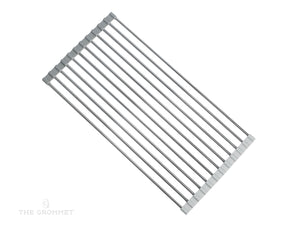 Over the Sink Stainless Steel Dish Drying Rack, From Grand Fusion