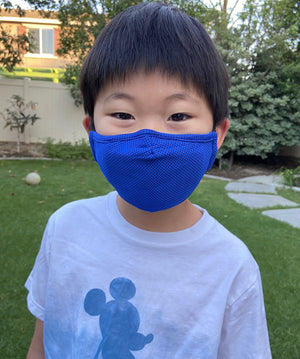 CHILD SIZE Non-Medical Mask with Filter - 12 MASK GROUP SIZE BUNDLE (Made from Super Comfortable Polyester Microfiber)