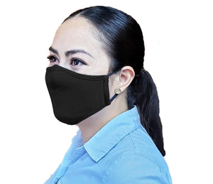 Adult Non-Medical Mask with Filter - 12 MASK - GROUP SIZE BUNDLE (Made from Super Comfortable Polyester Microfiber), From Grand Fusion